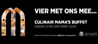 Culinair MaMa's buffet – Zondag 12 mei 2019