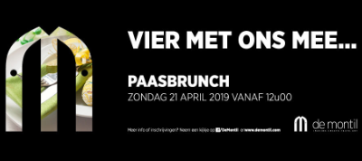 Paasbrunch – Zondag 21 april 2019