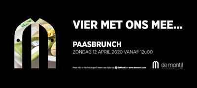 Paasbrunch – Zondag 12 april 2020