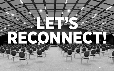 Let's reconnect…